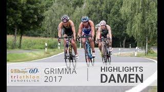 1. Bitburger 0,0% Triathlon-Bundesliga Grimma 2017 - Highlights Damen