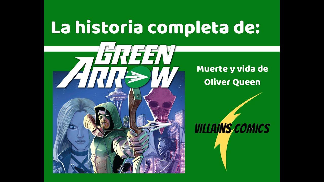 Green Arrow La muerte y vida de Oliver Queen