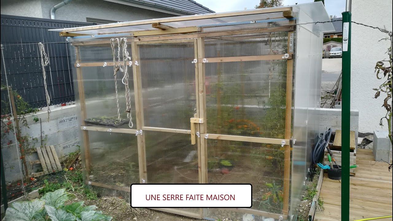 1 Fabriquer Une Serre En Bois De Jardin Fait Maison Et Petit Tour Du Potager Youtube