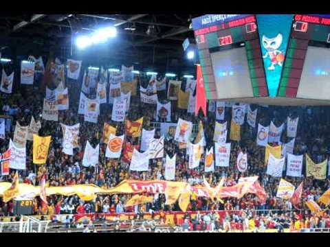 Galatasaray-Barcelona Tribünler