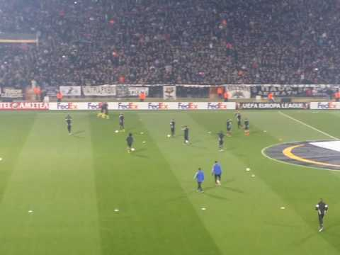 PAOK VS Schalke Fans