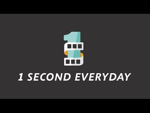 One Second Everyday: October 2014-October 2015