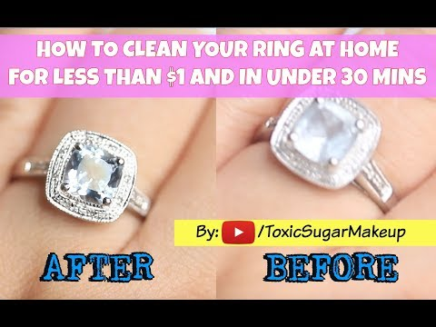 How to Clean Your Rings At Home - Engagement Rings, Precious Stones, and More! | Toxic Sugar |