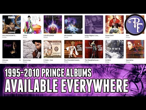 Prince Albums From 1995-2010 Available Everywhere