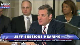 FNN: TED CRUZ Goes Off On Democrats At Jeff Sessions Hearing Free HD Video