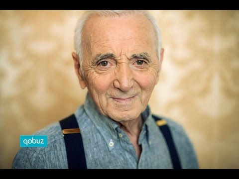Charles Aznavour : interview vidéo Qobuz