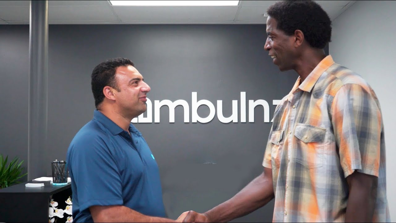 A C Green Visits Ambulnz