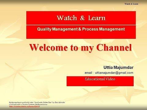 Quality Management & Process Management