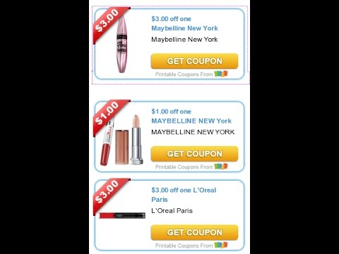 photograph relating to Printable Maybelline Coupons referred to as Need to Print Coupon codes: $3/1 Maybelline, $3/1 Bic added printable coupon codes!