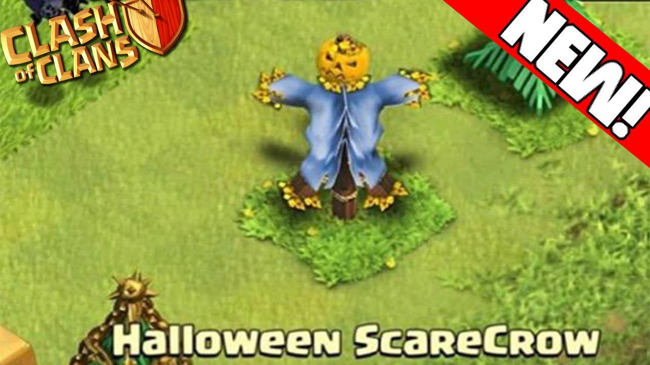 Clash of Clans - SCARECROW HALLOWEEN NEW UPDATE! Halloween Update ...