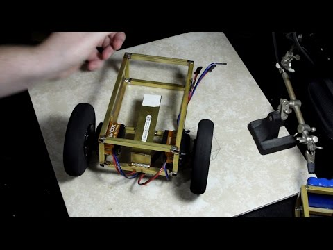 Building a Robot Chassis with Brass Square Tube, a Dremel, and Solder