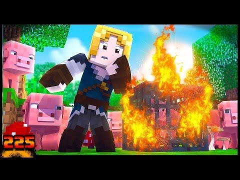 CRIANDO SPAWNER DE PORCO SURVIVAL!! - Forever Mapa #225 - Minecraft 1.11