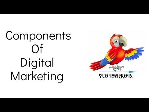 Components Of Digital Marketing | Digital Marketing Services Company in India - SEO Parrots