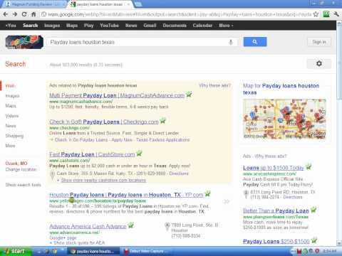 Payday Loans Houston, Texas - WARNING!