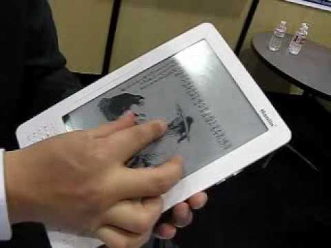 CES 2010 - Hanlin A9 Multi-touch E-book
