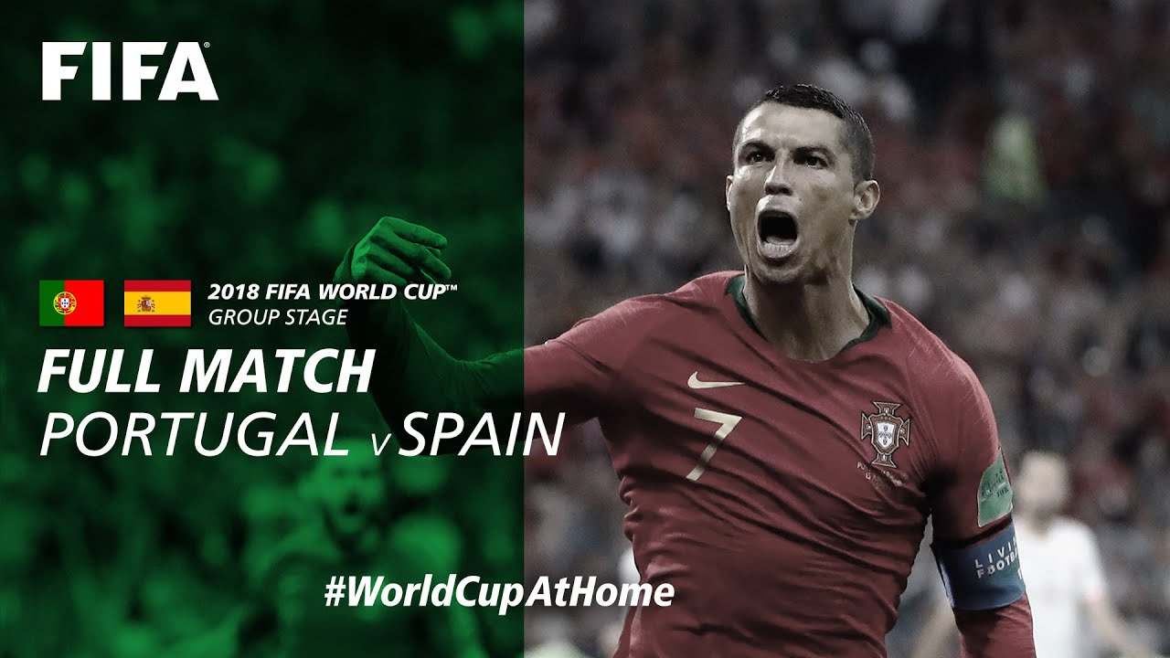 Download Portugal v Spain | 2018 FIFA World Cup | Full Match