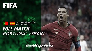 #worldcupathome | Portugal V Spain  Russia 2018