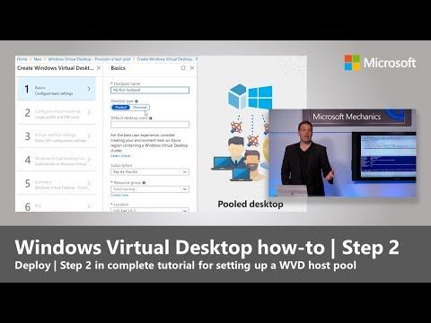 Windows Virtual Desktop how-to | Step 2: Deploy - YouTube