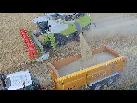 HARVEST 2018! The COMBINE IS ROLLING!