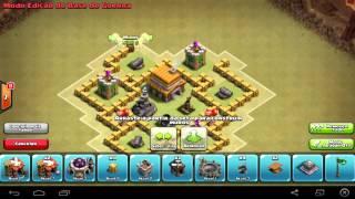 Clash Of Clans - Layout de Guerra Centro de Vila 5 (Town Hall 5 War Base)