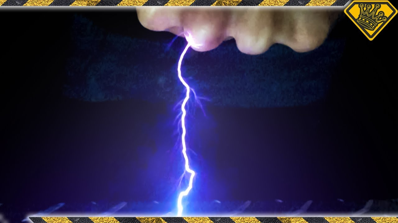 We Made Tiny Lightning Strikes