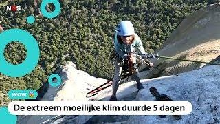 Wow: Selah (10) beklimt supersteile berg