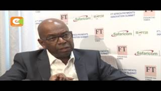Safaricom CEO  Bob Collymore says laws should not punish successful companies