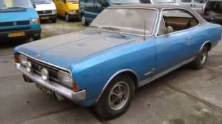 Opel Commodore GS Coupe 1969 Restoration