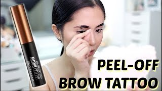 Maybelline Tattoo Brow Gel Tint Review | Anna Cay ♥