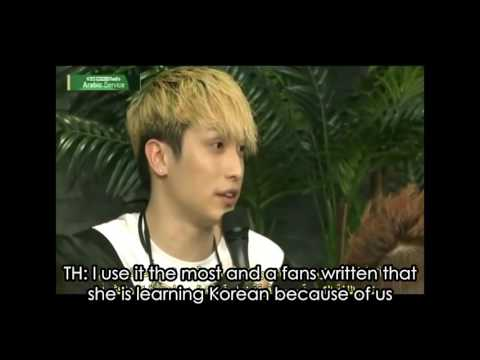 [ENG SUB] Interview with ZE-A KBS WORLD Radio Arabic 2/2