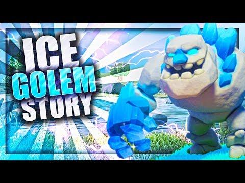 Clash Ice Golem Origin Story!   How Did The Golem Become The Ice Golem   Clash Of Clans Origin Story