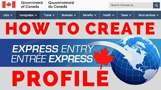 Création de profil pour l'Entrée Express (étape par étape)