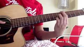 True - Ryan Cabrera ( Instrumental Main Rhythm Guitar Part cover)