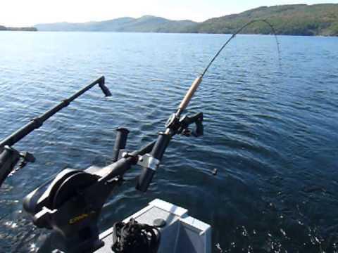 10/3/13 Willsboro Salmon trip with Sue
