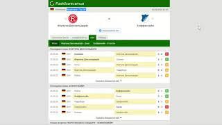 Фортуна Дюссельдорф Хоффенхайм Прогноз и обзор матч на футбол 06 июня 2020 Бундеслига