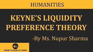What is Keyne's Liquidity Preference Theory (B.A., M.A.) by Ms. Nupur Sharma