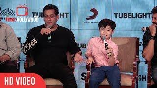 Salman Khan About Tubelight Little Boy Matin Rey Tangu | Tubelight
