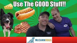 High Value Dog Treats- And When To Use Them