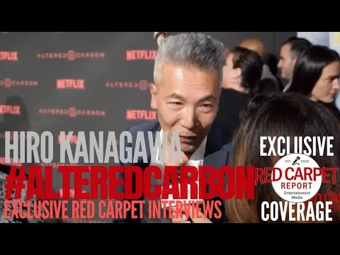 Hiro Kanagawa ed at Premiere of Netflix's AlteredCarbon NowStreaming AltCarb
