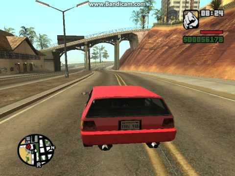 Gta San Andreas Przejażdżka Po Męsku