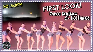 DANGEROUS DRIVE HOME! FIRST LOOK AT DANCE ROUTINES & COSTUMES!