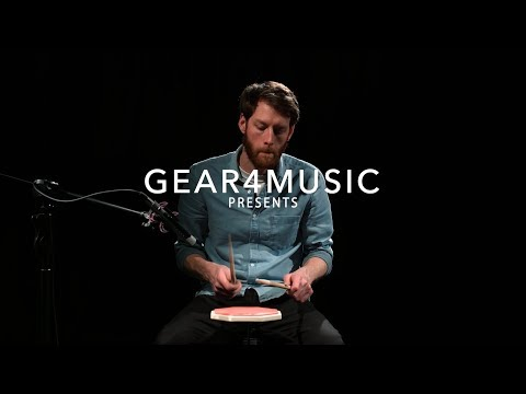 PP-1 Practice Pad & Stand | Gear4music demo
