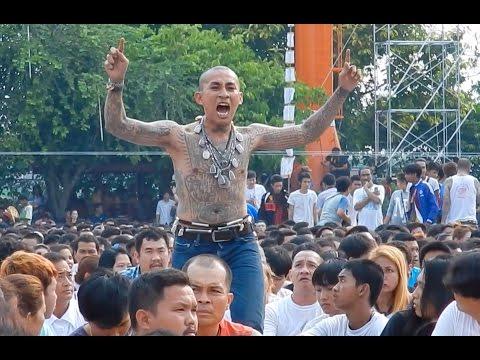 People Possessed By Tattoo Spirits: Sak Yant Tattoo Festival, Thailand 2016