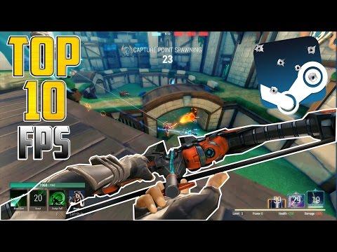 SUPER TOP 10 FPS Melhores Jogos de Tiro Gratis na Steam (FPS Free to Play)