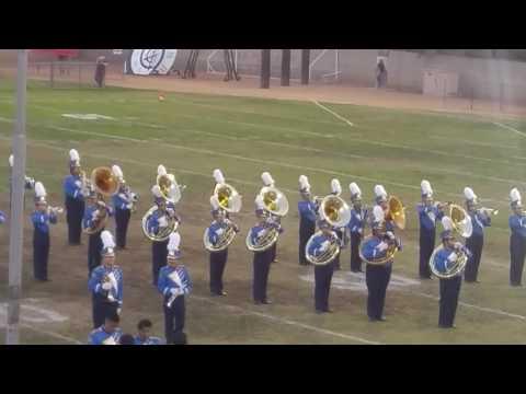 Anaheim High School Marching Band 2016
