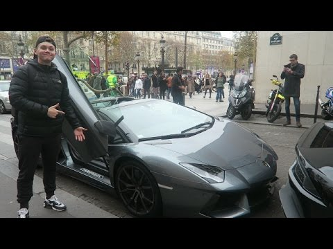 Lamborghini Aventador Dream Car Paris Vlogs 2 Youtube
