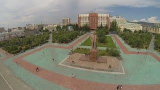 Флэшмоб в Чите «Сердце города» 14 июня 2014