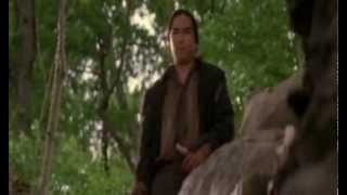 Tom and Huck: Tom is threatened by Injun Joe