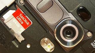 LG G4 Insert Micro SD Card?