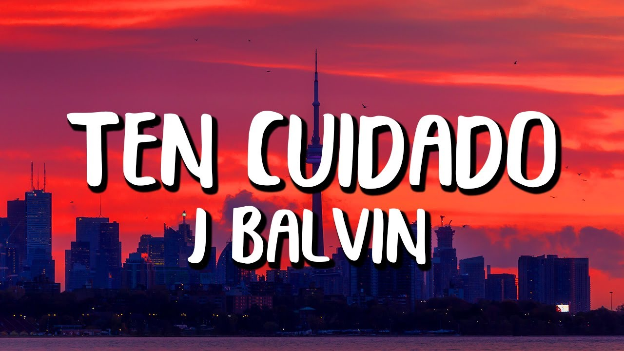 J Balvin - Ten Cuidado (Letra/Lyrics) Pokémon 25 Version